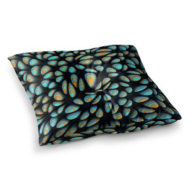 Blobbly Pattern by Danny Ivan Floor Pillow Size: 26 x 26