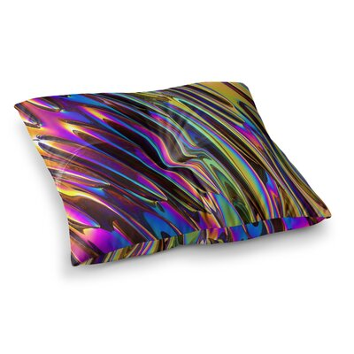 Twist Illustration by Danny Ivan Floor Pillow Size: 26 x 26