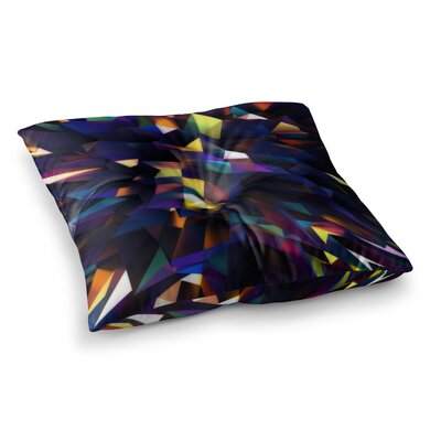 Low Iris Poly Illustration by Danny Ivan Floor Pillow Size: 26 x 26