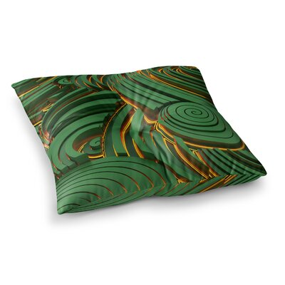 Infinity Digital by Danny Ivan Floor Pillow Size: 26 x 26