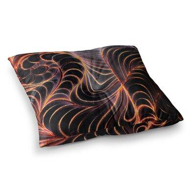 Trouble Digital by Danny Ivan Floor Pillow Size: 26 x 26