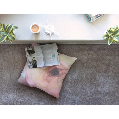 Tranquil by Debbra Obertanec Floor Pillow Size: 23 x 23