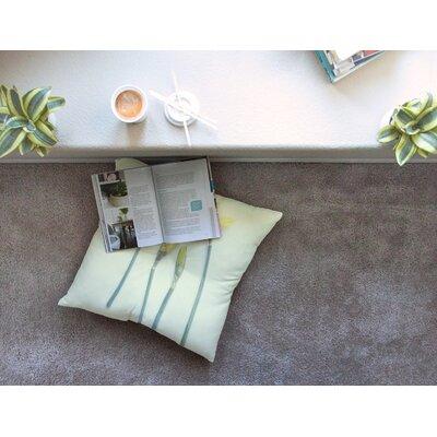 Springtime Tulip by Debbra Obertanec Floor Pillow Size: 23 x 23