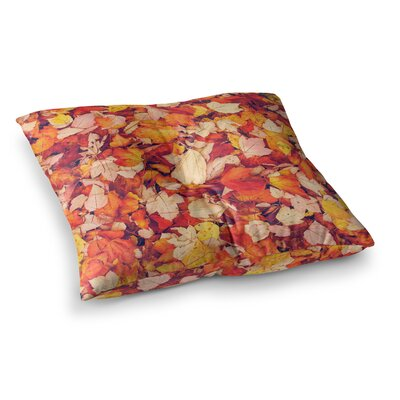 Scarlet Crimson by Debbra Obertanec Floor Pillow Size: 23 x 23