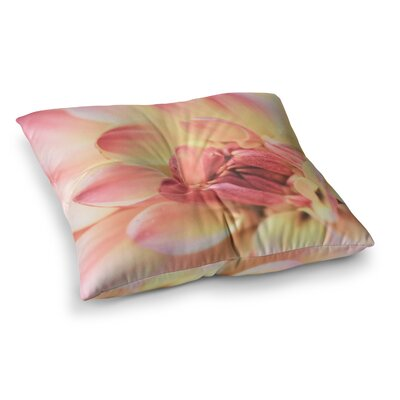 Pastels of Spring Floral by Debbra Obertanec Floor Pillow Size: 23 x 23