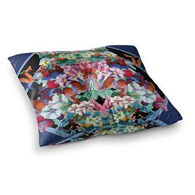 Herz Floral by Danii Pollehn Floor Pillow Size: 23 x 23
