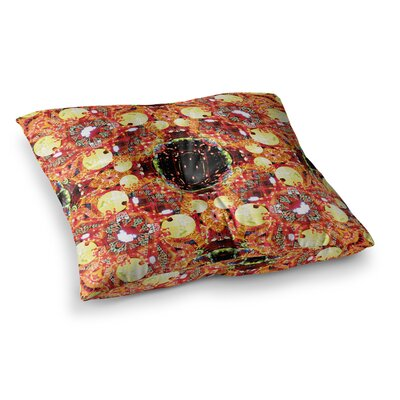 China by Danii Pollehn Floor Pillow Size: 26 x 26