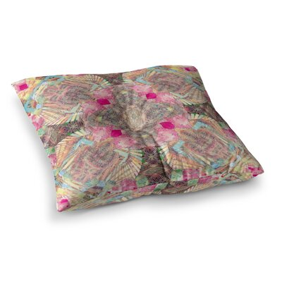 Indian Clash by Danii Pollehn Floor Pillow Size: 23 x 23