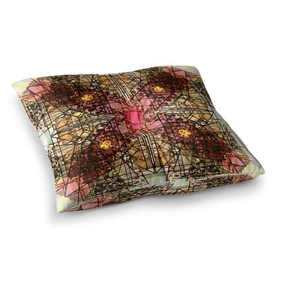 Viereck Geometric by Danii Pollehn Floor Pillow Size: 26 x 26
