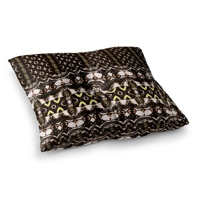 The Palace Walls by Dawid Roc Floor Pillow Size: 26 x 26
