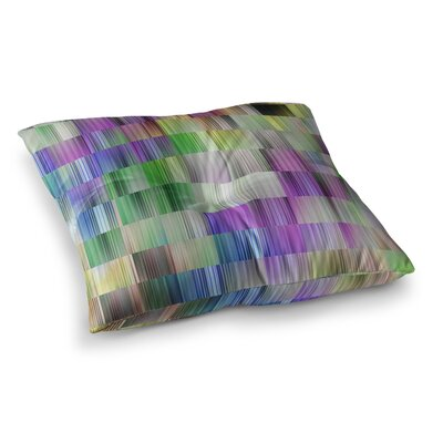 Sweet Pastel Lines 3 by Dawid Roc Floor Pillow Size: 23 x 23