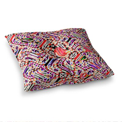 Camouflage by Dawid Roc Floor Pillow Size: 23 x 23, Color: Multi