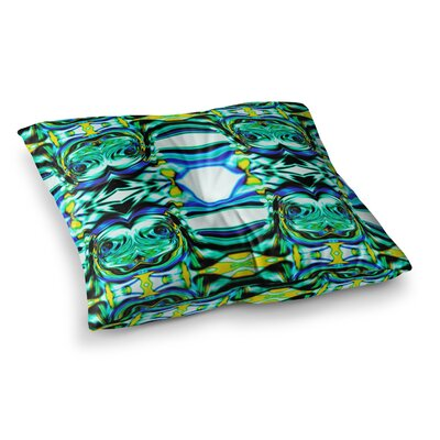 Inspired By Psychedelic Art 5 Abstract by Dawid Roc Floor Pillow Size: 23 x 23