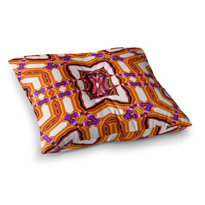 Inspired By Psychedelic Art 4 Abstract by Dawid Roc Floor Pillow Size: 23 x 23