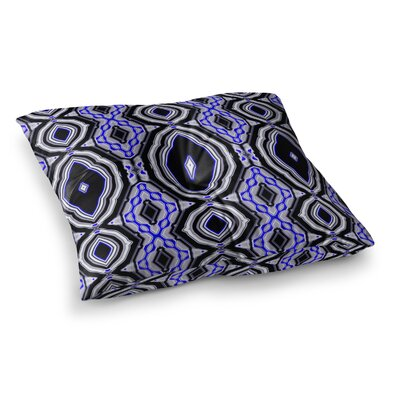 Inspired By Psychedelic Art 3 Abstract by Dawid Roc Floor Pillow Size: 26 x 26