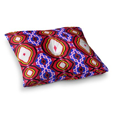 Inspired By Psychedelic Art 2 Abstract by Dawid Roc Floor Pillow Size: 23 x 23