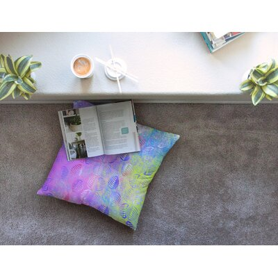Poddy Combs - Subtle Pastels by Dan Sekanwagi Floor Pillow Size: 23 x 23
