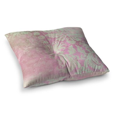 Spring Damask by Cafelab Floor Pillow Size: 23 x 23