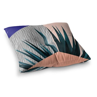 Summer Geometry by Cafelab Floor Pillow Size: 23 x 23