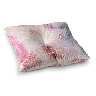 Sweet Tropical Abstract by Cafelab Floor Pillow Size: 23 x 23