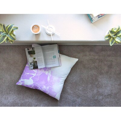 Marble Illustration by Cafelab Floor Pillow Size: 26 x 26