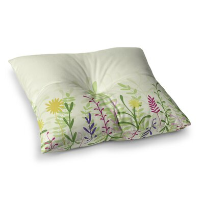 Springtime by Emma Frances Floor Pillow Size: 23 x 23