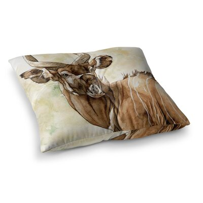 Africa 1 Animals by Wildlife Floor Pillow Size: 26 x 26