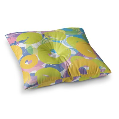 Circle Me by Emine Ortega Floor Pillow Size: 26 x 26