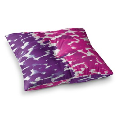 Fleeting by Emine Ortega Floor Pillow Size: 23 x 23, Color: Purple