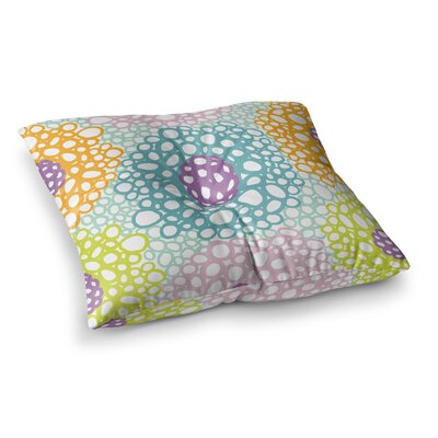 Bubbly by Emine Ortega Floor Pillow Size: 26 x 26