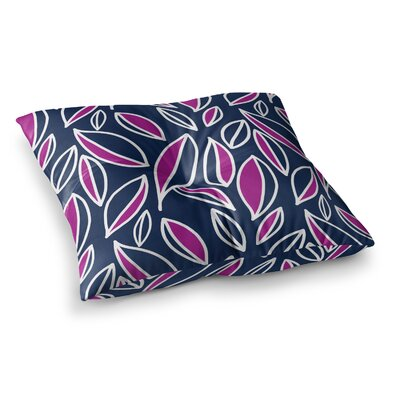 Leaving by Emine Ortega Floor Pillow Size: 26 x 26, Color: Magenta