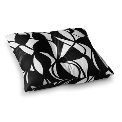 Sinuous by Emine Ortega Floor Pillow Size: 23 x 23