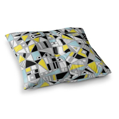 Fun Geo Too by Emine Ortega Floor Pillow Size: 26 x 26