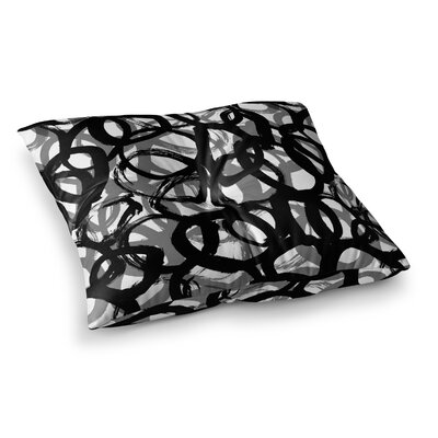 Rhythm by Emine Ortega Floor Pillow Size: 23 x 23