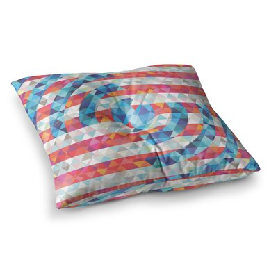 Abstract America Digital by Fimbis Floor Pillow Size: 23 x 23