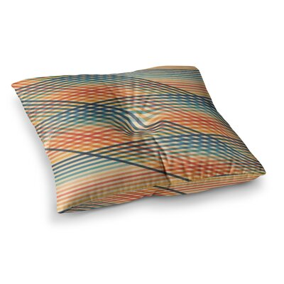 OvrlapToo by Fimbis Floor Pillow Size: 26 x 26