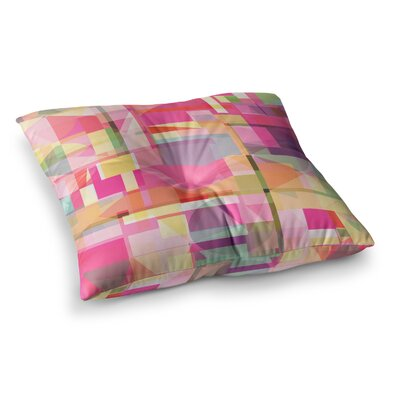 Paku Geometric by Fimbis Floor Pillow Size: 23 x 23