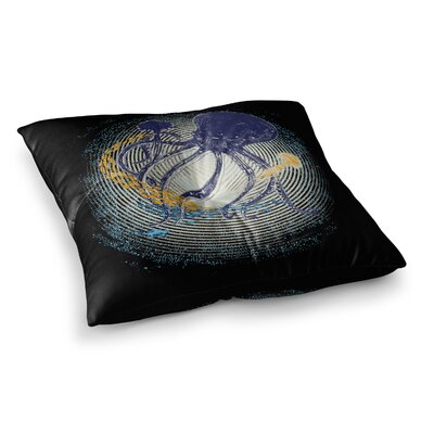 Tentacular Trap Octopus by Frederic Levy-Hadida Floor Pillow Size: 23 x 23