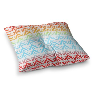 Antilops Pattern by Frederic Levy-Hadida Floor Pillow Size: 26 x 26