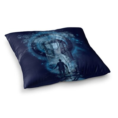 Master of Ceremony by Frederic Levy-Hadida Floor Pillow Size: 26 x 26