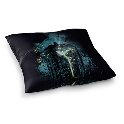 Regeneration is Coming by Frederic Levy-Hadida Floor Pillow Size: 23 x 23