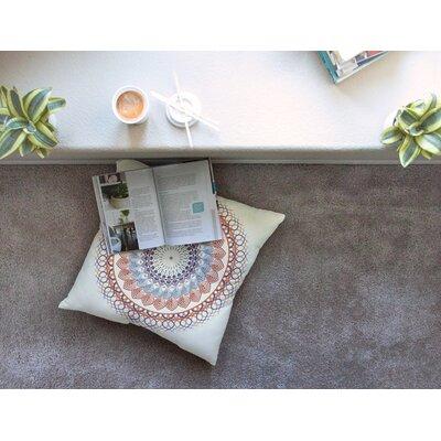 Vintage Mandala by Famenxt Floor Pillow Size: 26 x 26
