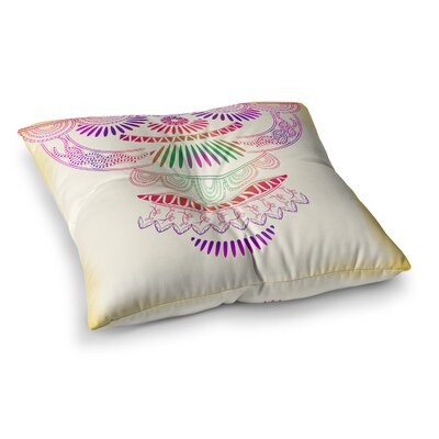 Decorative Ornament by Famenxt Floor Pillow Size: 26 x 26