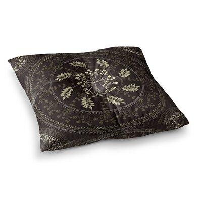 Reborn Mandala Bandana by Famenxt Floor Pillow Size: 26 x 26