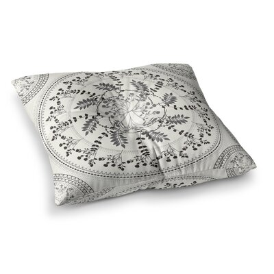 Magical Vibes Boho Madellion by Famenxt Floor Pillow Size: 26 x 26