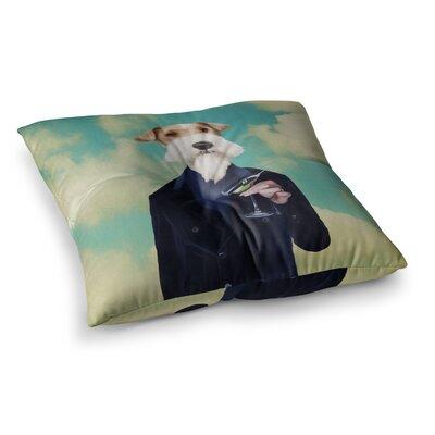 Passenger 8F Schnauzer by Natt Floor Pillow Size: 23 x 23