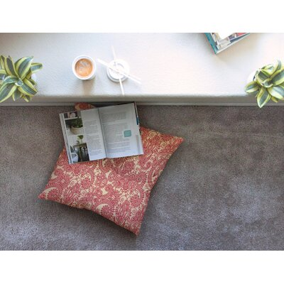 Floral Loop by Fotios Pavlopoulos Floor Pillow Size: 26 x 26
