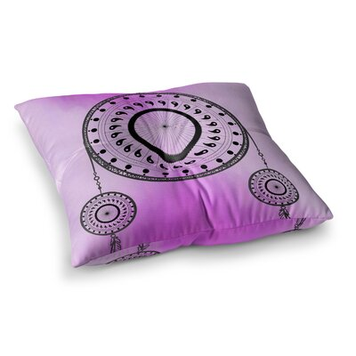 Bohemian Dream Catcher by Fotios Pavlopoulos Floor Pillow Size: 23 x 23