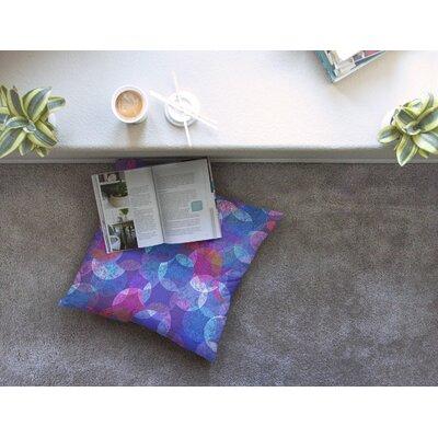 Mandala by Fernanda Sternieri Floor Pillow Size: 23 x 23