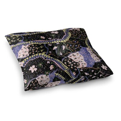 Oriental Patchwork by Fernanda Sternieri Floor Pillow Size: 26 x 26